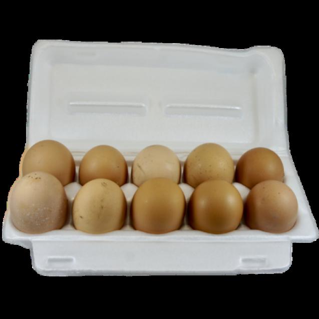 Яйцо куриное отборное домашнее