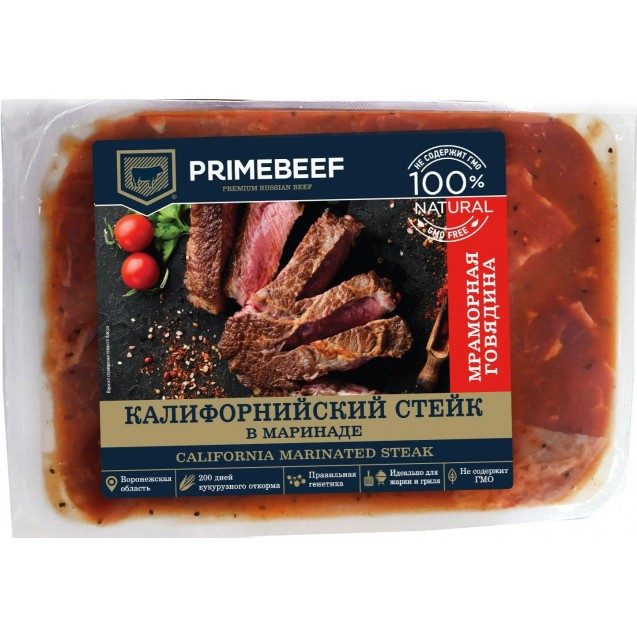 Калифорнийский стейк из мраморной говядины