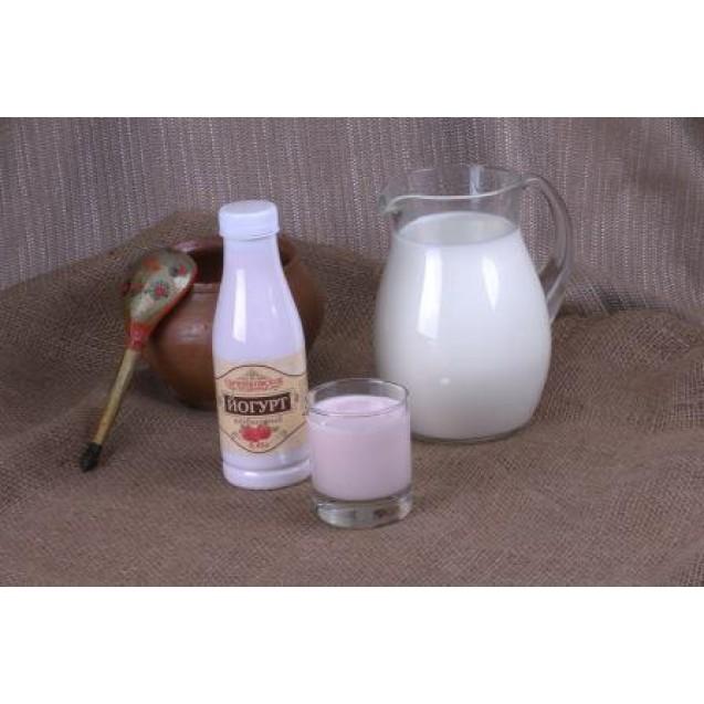 Йогурт питьевой фрукт. клубника 2,5% жирн.