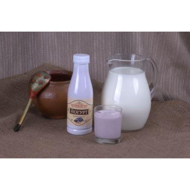 Йогурт питьевой фрукт. черника 2,5% жирн.