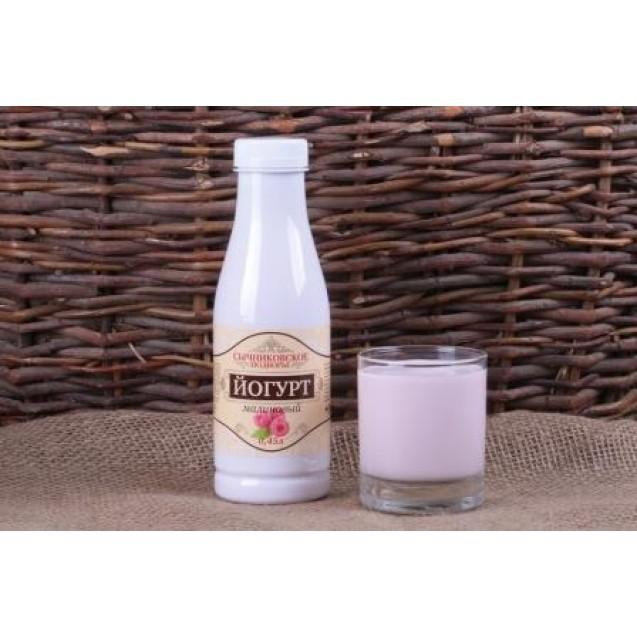 Йогурт питьевой фрукт. малина 2,5% жирн.