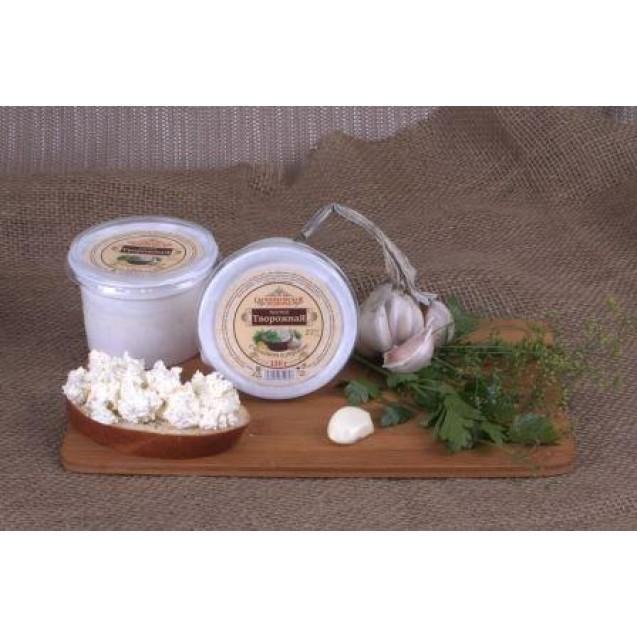 Паста творожная с чесноком и укропом 25% жирн.