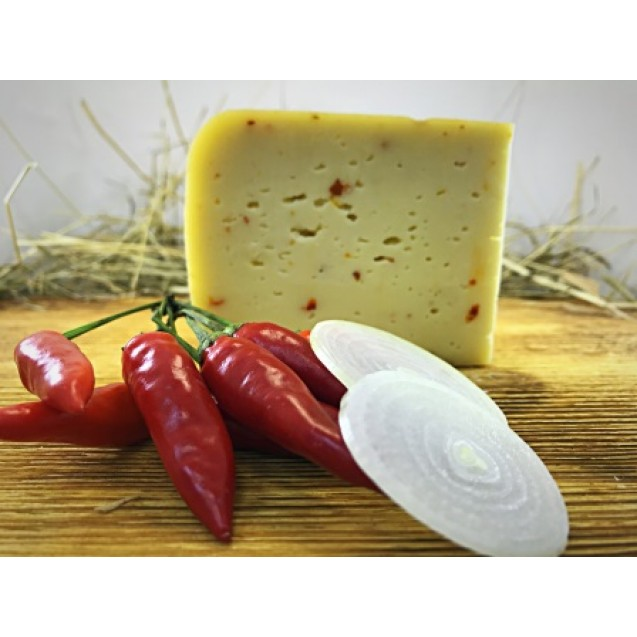 Сыр «Стромиловский паприка/лук» 45% жирн.
