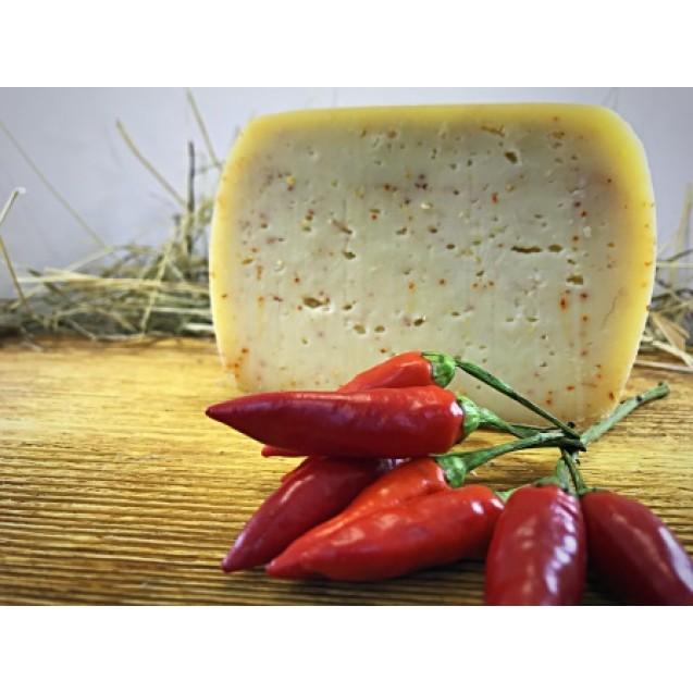 Сыр «Стромиловский с красным перцем» 45% жирн.